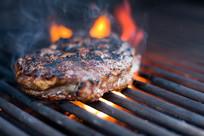 美味的碳烤牛肉