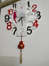 DIY啄木鸟电子挂钟