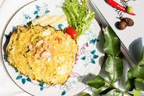 咖喱菠萝海鲜炒饭