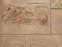 瓷砖同马车纹