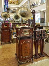 商场唱片机