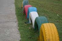 文艺范的轮胎