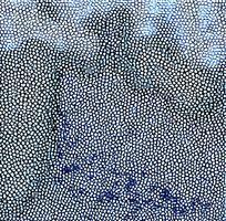 蓝色皮革纹理斑点图