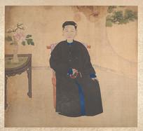 清朝女性肖像画