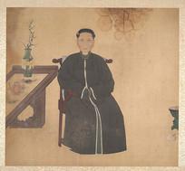 清佚名女性肖像画册