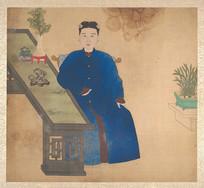清佚名肖像册