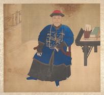 清佚名肖像册- 清朝官员