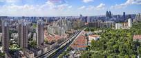 中山公园城市天际线