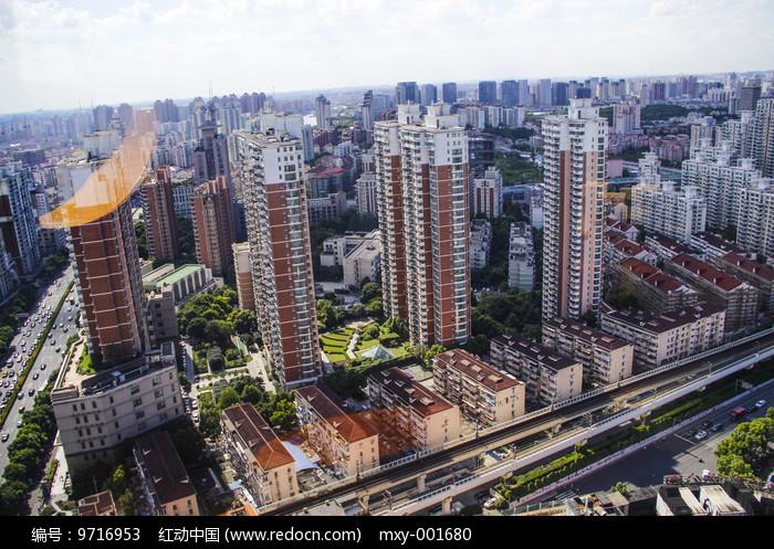 城区高楼图片