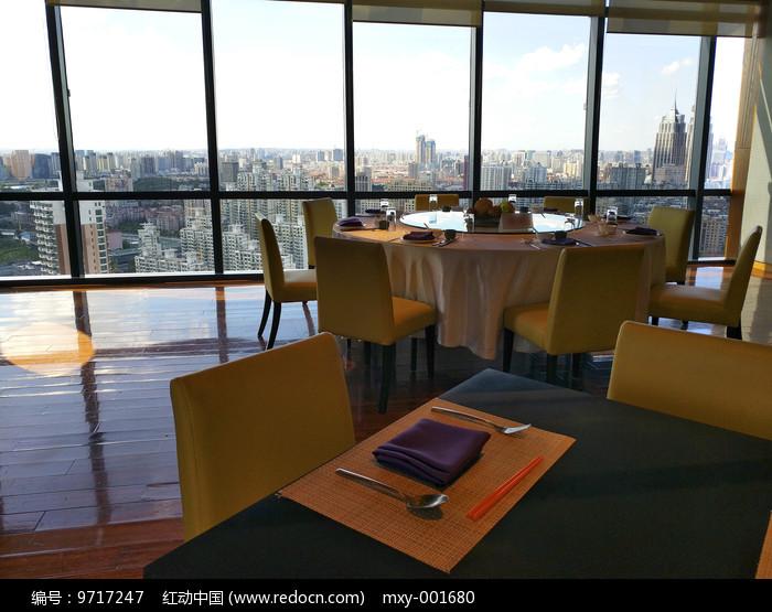 高空旋转餐厅图片