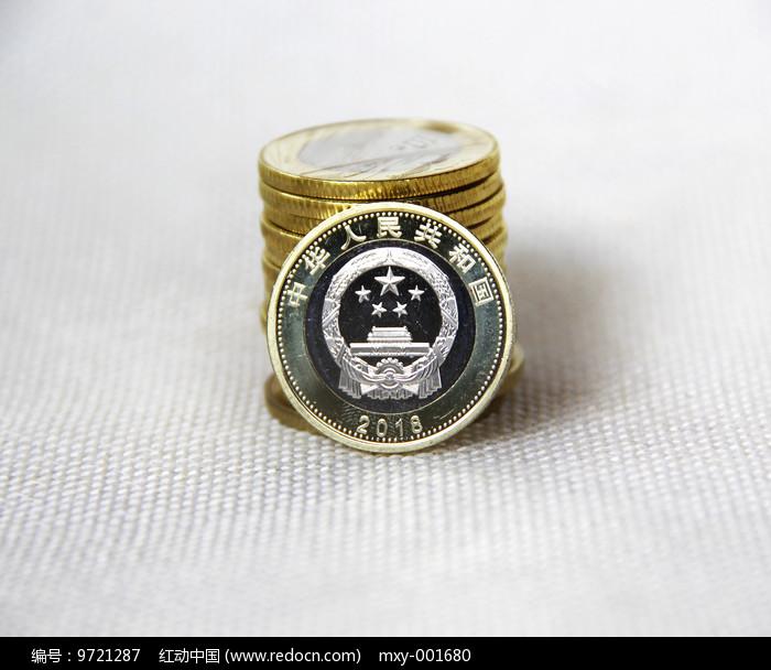 纪念金币素材图片