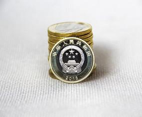 纪念金币素材