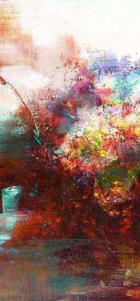 竖版高清抽象油画
