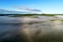 森林云雾(航拍)