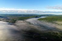 森林云雾 群山蜿蜒(航拍)