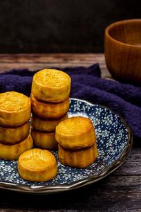 中国风月饼摆拍