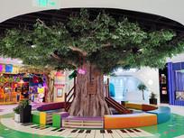 商场大树人工古树
