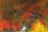 抽象油画艺术