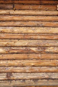 俄式木刻楞木屋外墙