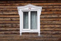 俄式木屋雕花窗户(窗子)