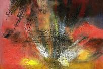 高清抽象油画素材