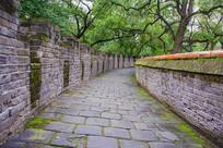 沈阳清福陵宝城的马道