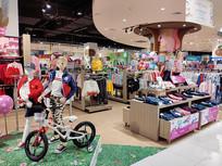 儿童时装展厅展柜设计