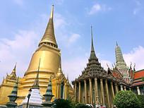 泰国大皇宫近景