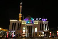 呼市艾博伊和宫夜景