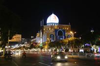 呼市伊斯兰风情街景