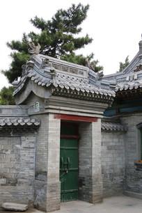 清真寺青砖门