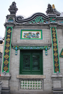 清真寺伊斯兰风格对联门