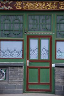 清真寺伊斯兰风格小门