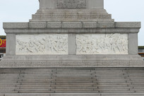 人民英雄纪念碑西侧浮雕