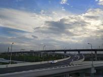 高架交通拍摄
