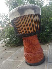 丽江的非洲手鼓