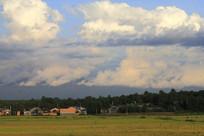 漂亮的蓝天白云