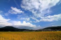 气象万千的蓝天白云