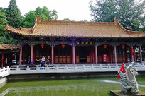 银川中式古典建筑
