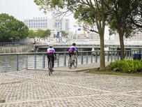 城市自行车比赛摄影