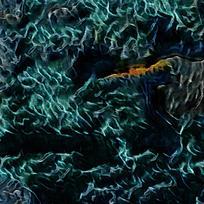 抽象梦幻风景装饰油画