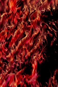 炫酷动感火焰造型