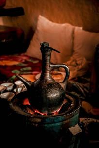 老式煮咖啡壶