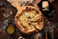 奶酪披萨饼