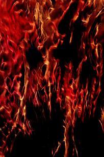 绚丽时尚火焰设计封面