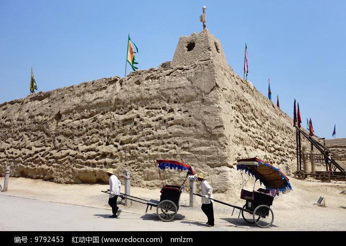 银川镇北堡古城堡 图片