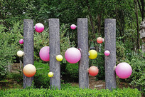 绿化带装饰雕塑小品