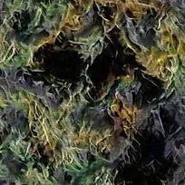抽象绿色玄关装饰油画