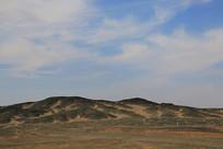 戈壁大漠无人区风光