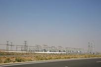 戈壁电力配电厂